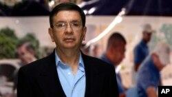 El ministro de Defensa de El Salvador, David Munguía Payés, habló en contra de la derogación de la Ley de Amnistía.