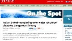 印度期待辛格访华能解决中印跨境河流开发问题