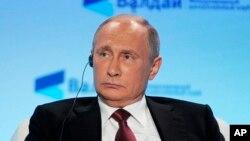 El presidente ruso, Vladimir Putin, aseguró que las acusaciones han sido utilizadas para distraer a la opinión pública de lo que realmente importa en EE.UU.