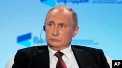 Prezida Vladimir Poutine w'Uburusiya