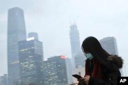 Beijing jadi salah satu kota dengan kadar polusi tertinggi di China.