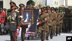 پروفیسر ربانی 20 ستمبر کو کابل میں ایک خودکش حملے میں ہلاک ہو گئے تھے۔