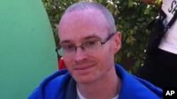 La imagen facilitada por la policía de Burbank, California, pertenece al agente del FBI desaparecido Stephen Ivens.
