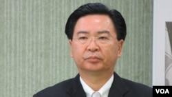 民進黨新任駐美代表 吳釗燮(美國之音 張永泰拍攝)