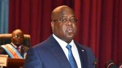 Ndambo ya lisikulu ya Félix Tshisekedi liboso ya Congrès (na Lingala)