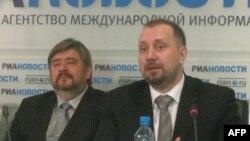 Алексей Волков и Роман Слесаренко