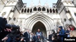 La Haute Cour de Londres, 3 novembre 2016.