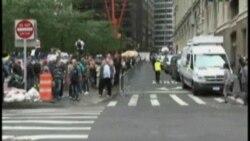 ,'Wall Street'i İşgal' Gösterileri Çevre Sakinlerinin Canını Yakıyor