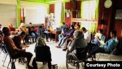 Sigab Indonesia menyelenggarakan pelatihan bagi difabel. (Foto:Sigab/dok)