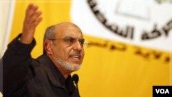Hamadi Jebali, Sekjen Partai Ennahda, partai pemenang pemilu demokratis pertama di Tunisia. Partainya akan mengajukan Jebali sebagai perdana menteri berikut.