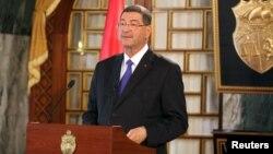 PM Tunisia Habib Essid hari Senin (23/3) memecat lima komandan polisi setelah serangan teror (foto: dok).