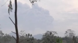 Indonesia volcano tv