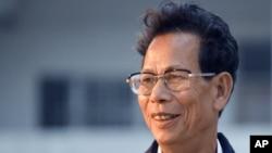 乌坎村原党支书林祖恋(资料照片)