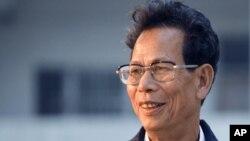 中國廣東烏坎村維權運動的領導人林祖戀星期四被判刑三年零一個月。圖為林祖戀資料照。