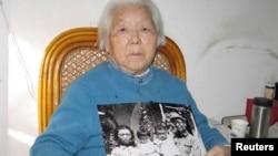 2008年1月29日高岗遗孀李力群在北京接受采访