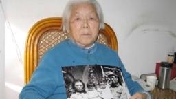 2008年1月29日高崗遺孀李力群在北京接受采訪