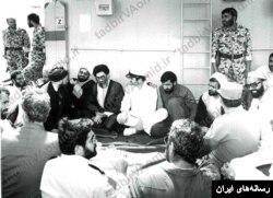 حسن روحانی، نفر سمت چپ علی خامنه ای در زمان ریاست جمهوری