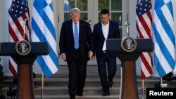 Дональд Трамп и Алексис Ципрас