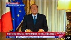 Cựu thủ tướng Ý Silvio Berlusconi mới đây vừa bị tòa án tối cao nước này y án 4 năm tù tội gian lận thuế.
