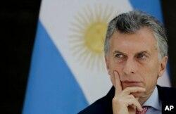 마우리시오 마크리 아르헨티나 대통령