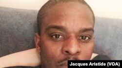 François Mudosa, un Congolais de 32 ans qui a émigré à Philadelphie en 2009