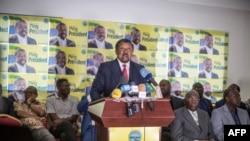 Jean Ping, umunyepolitike atavuga rumwe na Reta mu gihugu ca Gabon