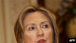 Госсекретарь США Хиллари Клинтон. Лиссабон. Португалия. 19 ноября 2010 года