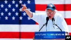 Demokrat nomzod Berni Sanders