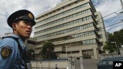 일본 도쿄의 조선총련 중앙본부 건물. (자료사진)