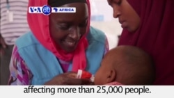 VOA60 Africa - Somalia: Extreme drought exacerbates an outbreak of cholera and diarrhea