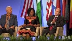 48国非洲年轻领袖齐聚华盛顿