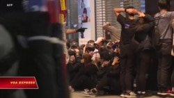 Hong Kong: Hàng trăm người biểu tình bị bắt ngày đầu năm mới