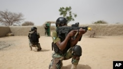 Nigerian special forces. (File)
