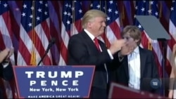 Як прості американці і сам Дональд Трамп зустріли звістку про його перемогу. Відео