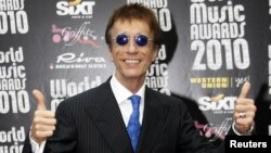Robin Gibb of the Bee Gees (2010 file photo)