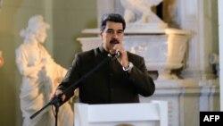 El presidente encargado venezolano, Nicolás Maduro, dijo que el TIAR debe ir a la basura.