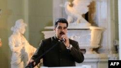 وینزویلا کے صدر نکولس مڈورو (فائل فوٹو)
