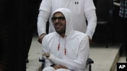 Ông Mohamed đã tuyệt thực hơn 16 tháng để phản đối việc giam giữ lâu dài ông và gia đình ông nói sức khỏe của ông suy giảm nhanh chóng.