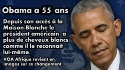 Dernier anniversaire de Barack Obama à la Maison Blanche
