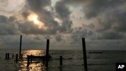아프리카 나이지리아 남부해안의 항구도시 칼라바르 (자료사진)