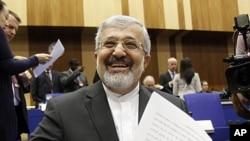 伊朗驻国际原子能机构特使苏丹尼耶3月8日在维也纳