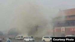 天安门遭车撞击 致3死10多人伤