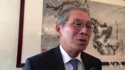 台湾驻美代表高硕泰原声视频