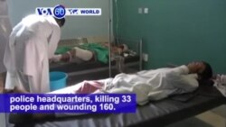VOA60 World - Taliban Target Police in Southern Afghanistan
