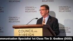 美國國防部長卡特前往印度之前在美國外交關係委員會發表演說