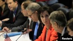 Delegasi AS dalam pembicaraan di Havana, Kuba (21/1).