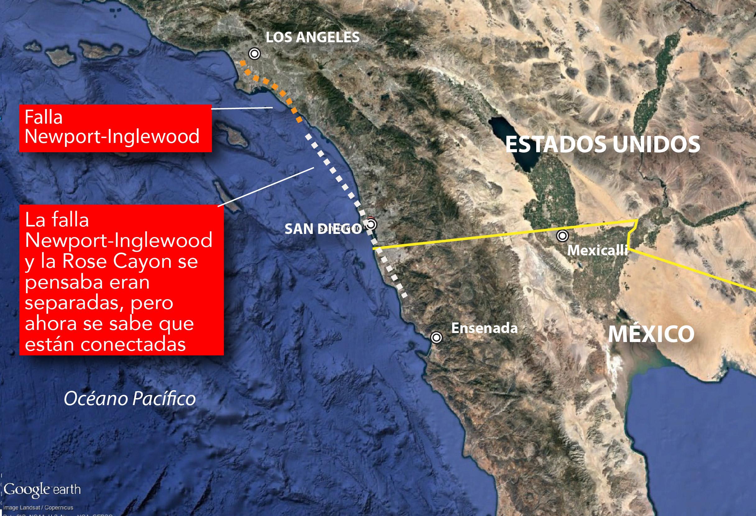 Aseguran científicos que gran terremoto podría sacudir California