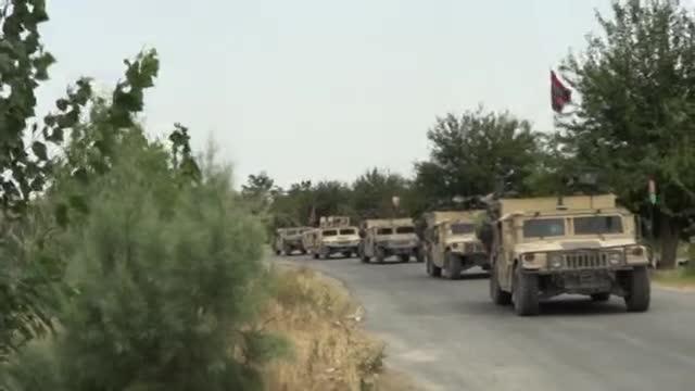 افغان سرتیرو د ننگرهار د کوټ په ولسوالۍ کې د داعش جنگیالیو مرکز ونیو
