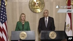 Хиллари Клинтон и Мохаммед Камель Амр