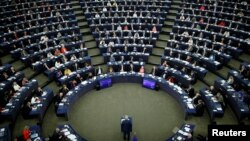 (ARHIVA) Zasedanje Evropskog parlamenta u Strazburu, 13. septembar 2017.